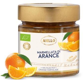 Aiello Bio - MARMELLATA DI ARANCE